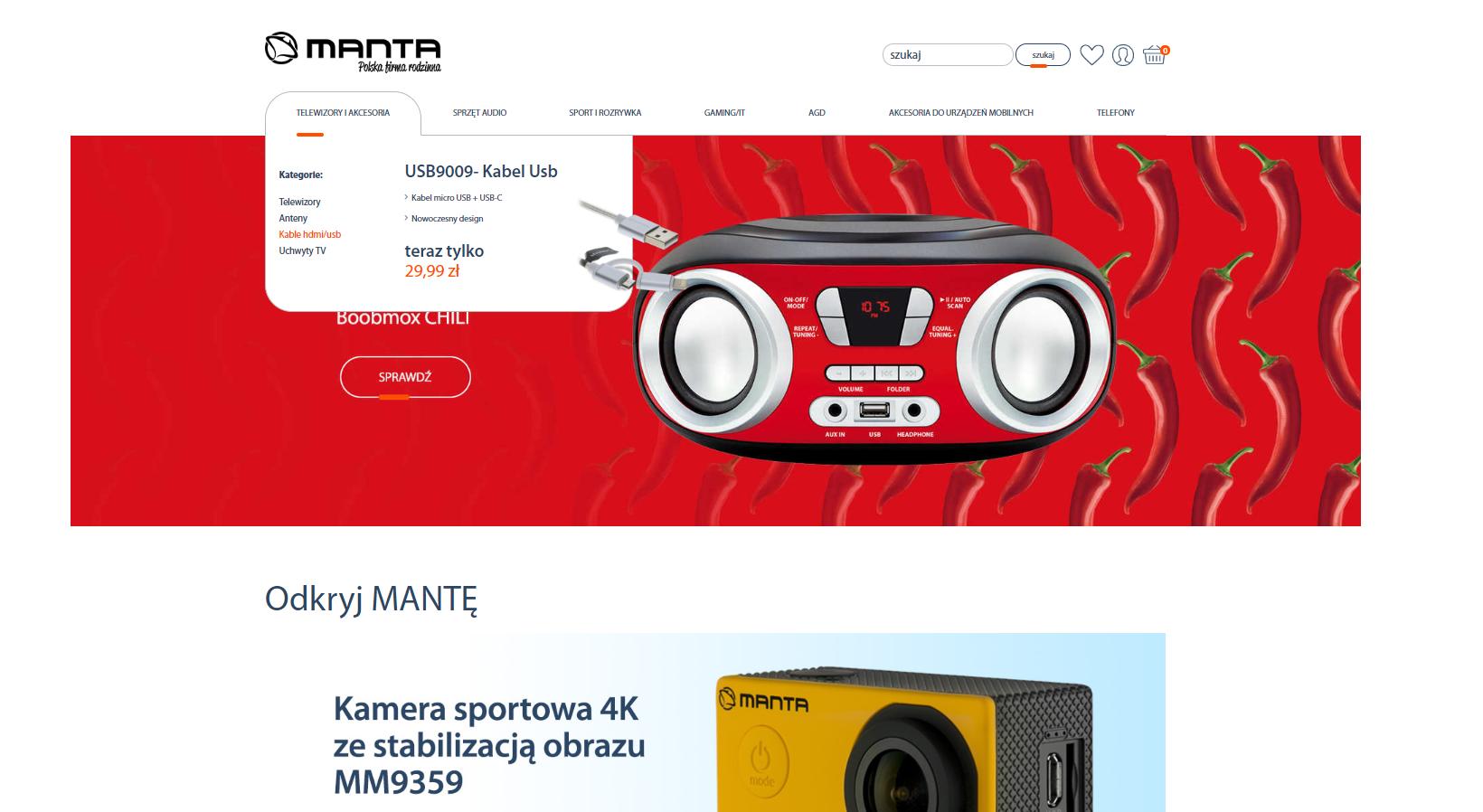 Strona główna Manta Polska